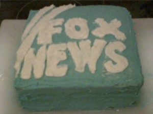 The Fox News Cake